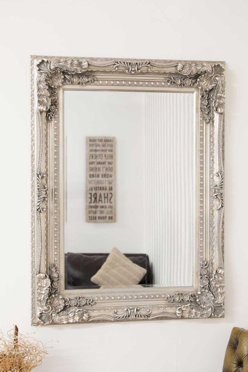 Blenheim Ornate Bevelled Mirror Dragon Framing