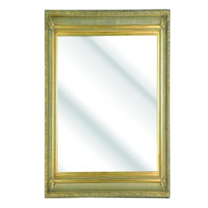 Traditional Fluted Bevelled Mirror   Dragon Framing