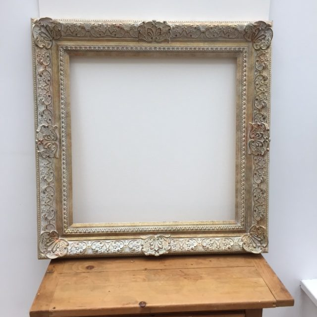 Antique Gold Square Frame 20″ x 24″ | Dragon Framing