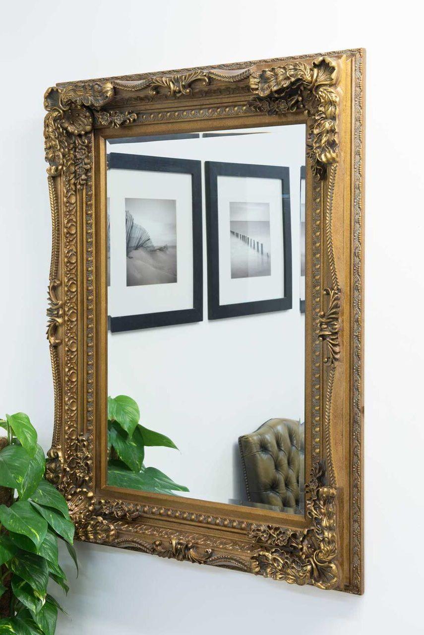 Blenheim Ornate Bevelled Mirror | Dragon Framing